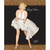 Marilyn Monroe Queen Leopard Blanket w/Beach Towel