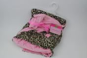 Hoodie Animal Reversible Blanket Cheetah