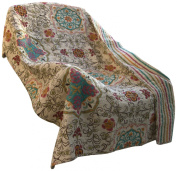 Greenland Home Fashions Espirit Spice Quilted Throw