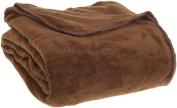 All Seasons Micro Fleece Plush Solid F/Q Blanket