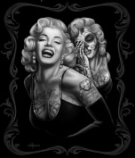 "Marilyn Monroe ""Smile Now' 130cm x 150cm Throw Blanket"