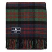 Macdonald (Old Colours) Tartan Premium Wool Throw