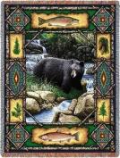 Pure Country Weavers Bear Lodge Throw