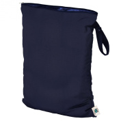 Planet Wise Wet Nappy Bag, Navy, Large