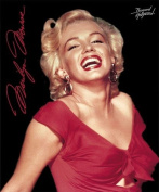 Marilyn Monroe Red Dress Fleece Throw Signature Collection