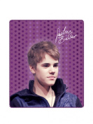 Justin Bieber Purple Polka Dots Super Soft Fleece Throw Blanket 50x60