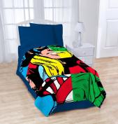 Marvel Heroes Cut Up Blanket
