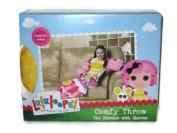Lalaloopsy Crumbs Sugar Cookie Comfy Throw Blanket with Sleeves Designer Series