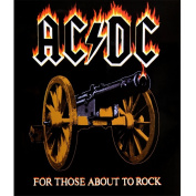Ac/dc - About To Rock Fleece Blanket