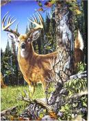Find 9 Deers Throw Blanket - Decorative Fleece Blanket