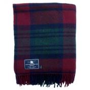 Lindsay Tartan Premium Wool Throw