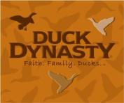 Duck Dynasty Faith Family Ducks Coral Fleece Throw