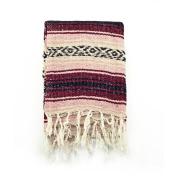 Mexican Blanket Serape colours pink, burgundy & black