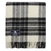 Grey Dress Stewart Tartan Premium Wool Throw