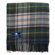 Antique Dress Gordon Tartan Premium Wool Throw