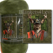 Hunting Buckley Fleece Throw Signature Collection