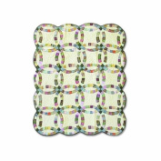 Patch Magic 130cm by 150cm Country Wedding Ring Throw