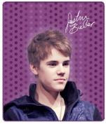 Justin Bieber Purple Dot Throw Blanket 130cm x 150cm