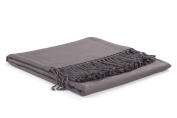 Nine Space Viscose from Bamboo Solid Throw Blanket, Slate, 130cm x 180cm