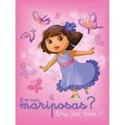 Dora Butterfly Fleece Blanket