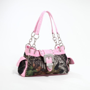 Pink Camo Purse with Buckle