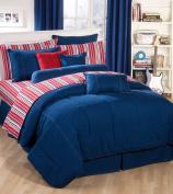American Denim Comforter Set