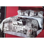 Official Licence 2pac/tupac Grey black red Comforter King Size