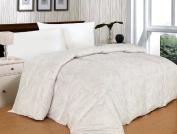 300 Thread Count Paisley White Alternative Down Comforter
