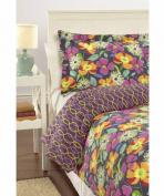 Vera Bradley Reversible Comforter Set Full/Queen Jazzy Blooms