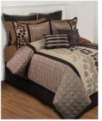 Hallmart Collectibles Sydney 24 Piece Queen Comforter Set