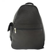 Piel Leather Tri-Shaped Sling Bag