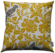 JinStyles Cotton Canvas Parrot Accent Decorative Throw/Toss Pillow Cover