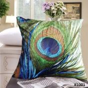 60cm x 60cm - Fablegent Elegant Decorative Throw Pillow Cover - Design on Both Sides - Soft Velvet Fabric - Multiple Selections