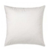 20 x 20 - Pillow Inserts - 400TC Cotton Cover - Made in USA