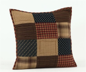Patriotic Patch 41cm Quilted Decorative Throw Pillow Cover