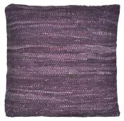 Matador 46cm Purple Leather Pillow