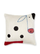 Be-you-tiful Home Wool Felt Pillow, Cow