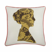 Thomas Paul LN-0222-COC Cocoa Nelly Pillow, 46cm