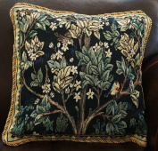 . One Tree of Life (B) Jacquard Woven Tapestry Cushion/pillow Cover