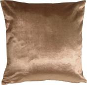 Pillow Decor - Milano 16x16 Light Brown Decorative Pillow
