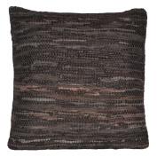 Matador 46cm Brown Leather Pillow