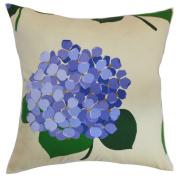 The Pillow Collection Batuna Floral Pillow