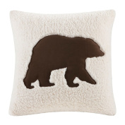 Woolrich Hadley Plaid Square Pillow, 46cm by 46cm