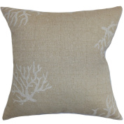The Pillow Collection Jessamine Coral Pillow