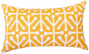 Majestic Home Goods Aruba Pillow, Small, Citrus