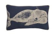 Thomas Paul FX-0371-IND Indigo Humphrey Pillow, 50cm by 30cm