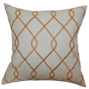 The Pillow Collection Jolo Geometric Pillow