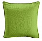 Royal Heritage Home Williamsburg William and Mary Matelasse Square Pillow