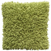 Shagadelic 46cm Green Chenille Twist Shag Pillow