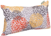 Majestic Home Goods Blooms Pillow, Small, Citrus
